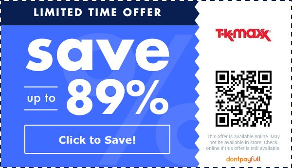 tk maxx discount code