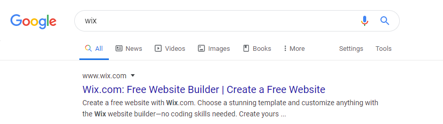 How to get your Wix website found on google