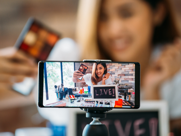 live streaming is gaining popularity
