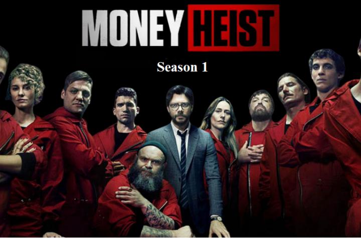 Index of Money Heist Season 1