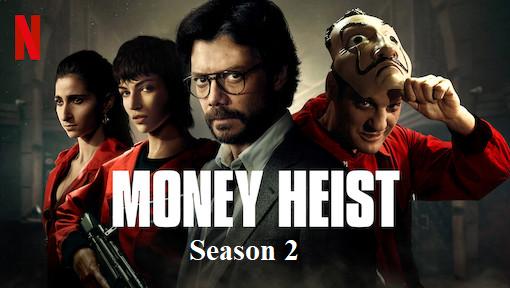 Index of Money Heist Season 2
