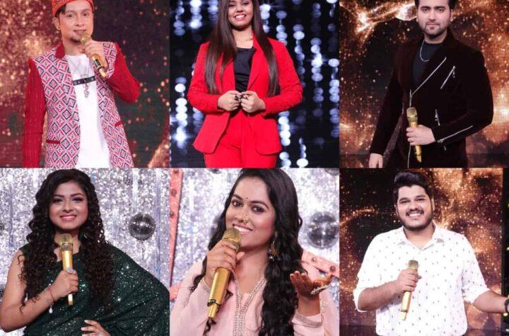 Indian Idol Contestants 2021
