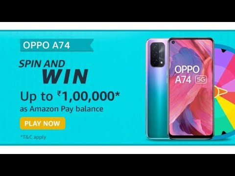 OPPO A74 5G display is equipped with